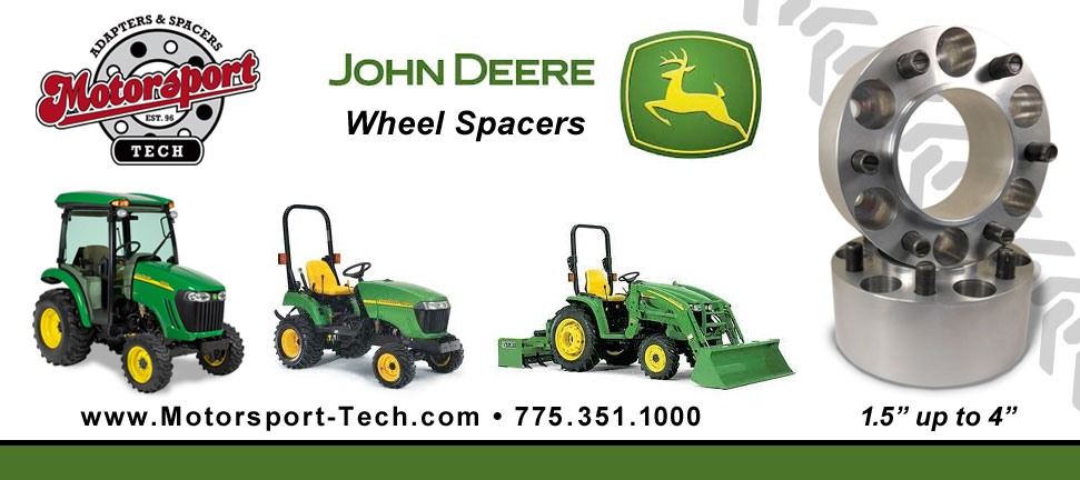 John Deere 10 Bolt Wheel Spacers : John deere wheel spacers mytractorforum the